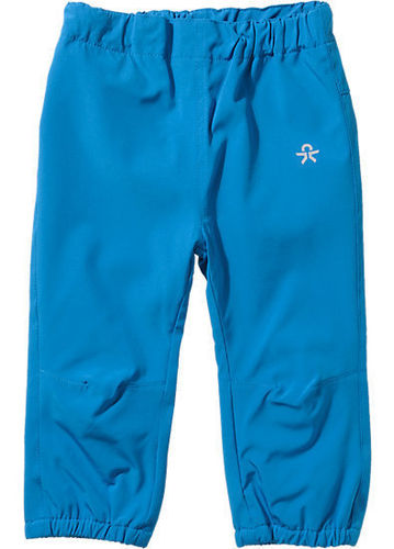 Color Kids Mini Bejaia Kinder Softshellhose - Cyan