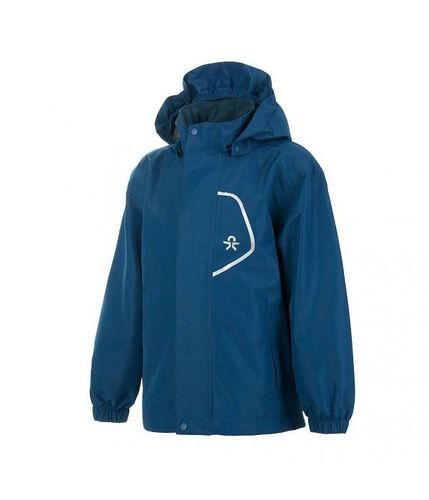 Color Kids Callas Kinder Regenjacke mit Membrane wasserdicht - Blue