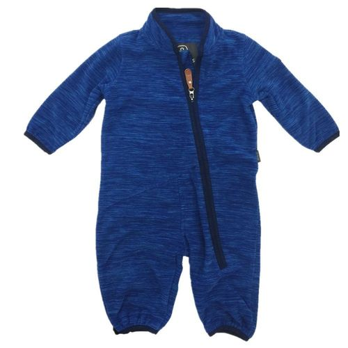 Color Kids Staden Jungen Fleece-Overall Jumpsuit - Blau