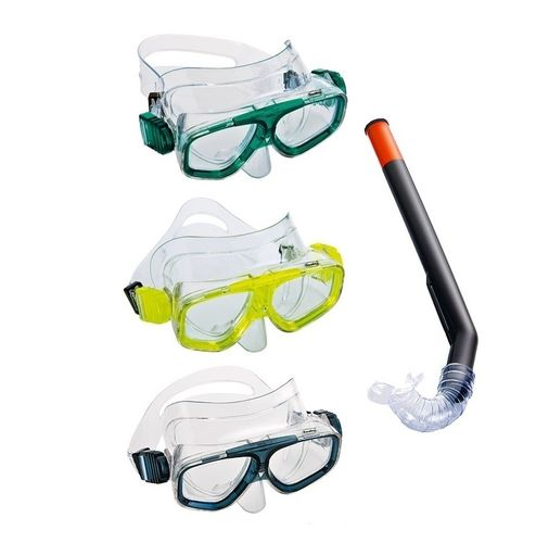 Fashy Kinder Schnorchel Set Tauchermaske Taucherbrille 8888