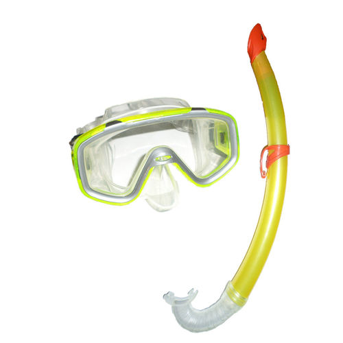 Fashy Kinder Schnorchel Set Tauchermaske Taucherbrille 8887