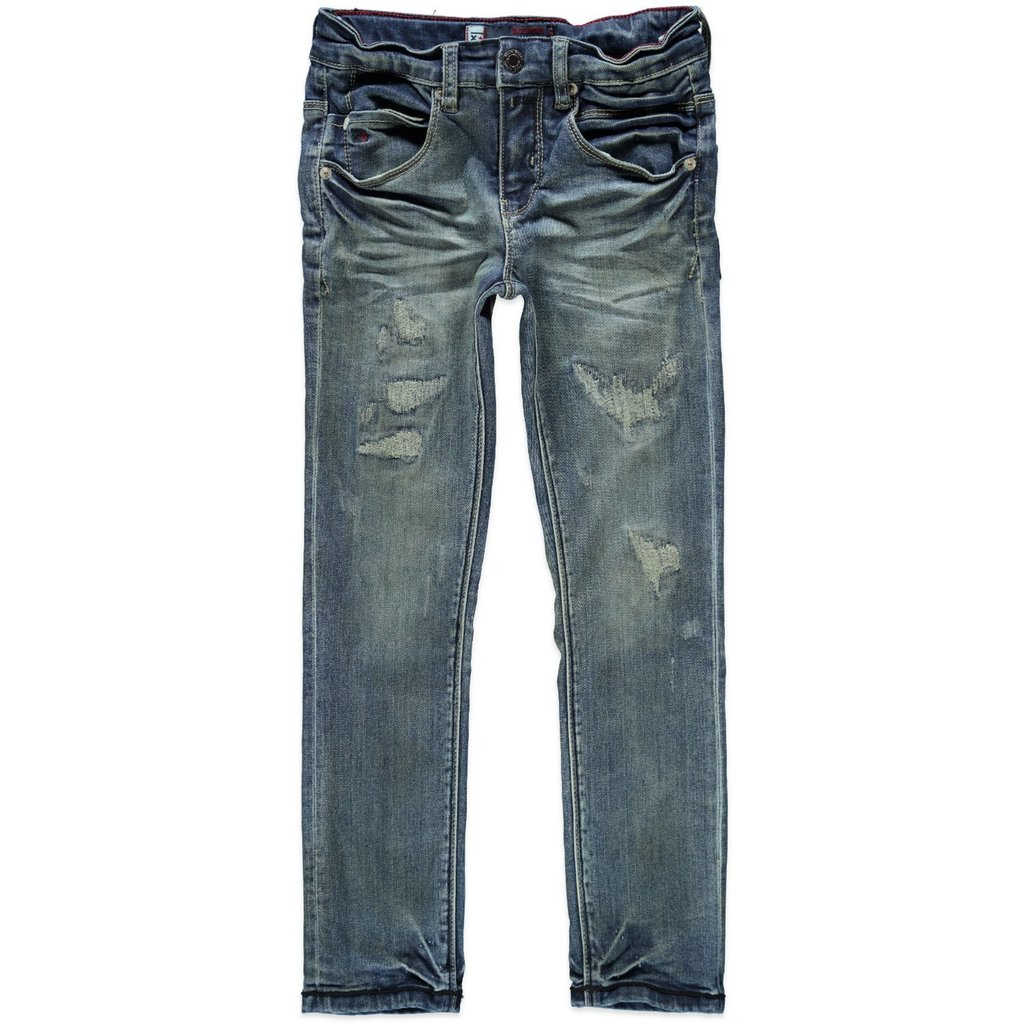 blue rebel solder skinny fit jungen jeans hose destroyed. Black Bedroom Furniture Sets. Home Design Ideas