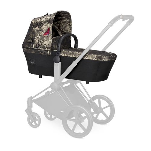 Cybex Platinum Priam Carry Cot Kinderwagenaufsatz, Fashion Edition Butterfly