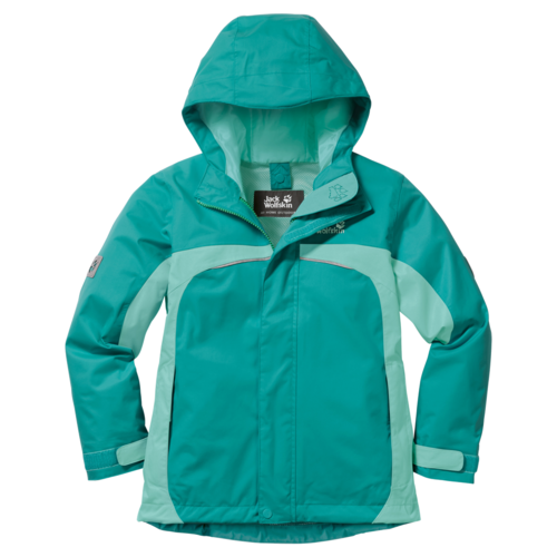 Jack Wolfskin Topaz Texapore Girls Funktionsjacke- spearmint