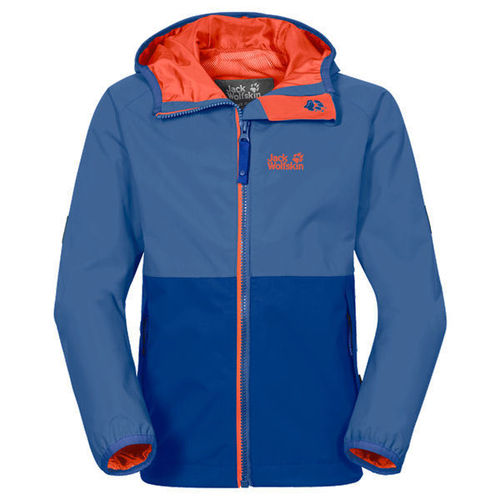 Jack Wolfskin Rainy Days Boys Texapore Regenjacke - peacock blue