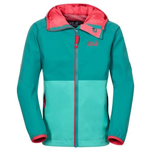 Jack Wolfskin Rainy Days Girls Texapore Regenjacke - spearmint