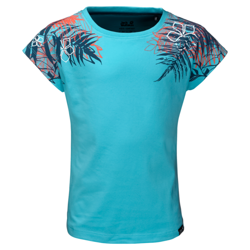 Jack Wolfskin Orchid T Girls T-Shirt - lake blue
