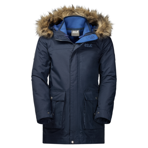 Jack Wolfskin Boys Elk Island 3in1 Parka - night blue